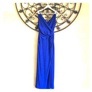 Ralph Lauren beaded jersey gown